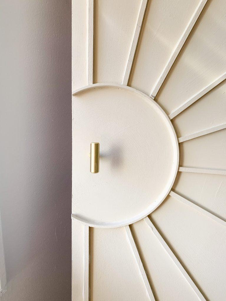 door knob on closet door